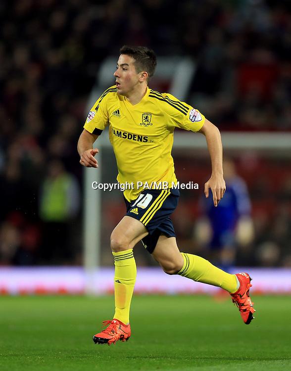 Middlesbrough's Carlos de Pena