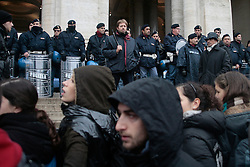 Rome dec 12 2008 - Protest of the Student.