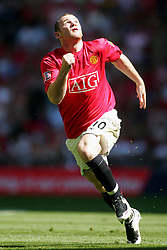 WAYNE ROONEY.MANCHESTER UNITED FC.FA COMMUNITY SHIELD 2007.WEMBLEY, LONDON, ENGLAND.05 August 2007.DIQ64128..  .WARNING! This Photograph May Only Be Used For Newspaper And/Or Magazine Editorial Purposes..May Not Be Used For, Internet/Online Usage Nor For Publications Involving 1 player, 1 Club Or 1 Competition,.Without Written Authorisation From Football DataCo Ltd..For Any Queries, Please Contact Football DataCo Ltd on +44 (0) 207 864 9121