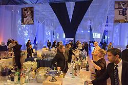 Yale Athletics Blue Leadership Ball & George H.W. Bush '48 Lifetime of Leadership Awards. 20 November 2015 at the William K. Lanman Center, Payne Whitney Gymnasium, Yale University.