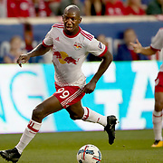 HARRISON, NEW JERSEY- OCTOBER 15: Bradley Wright-Phillips #99 of New York Red Bulls in action during the New York Red Bulls Vs Atlanta United FC, MLS regular season match at Red Bull Arena, Harrison, New Jersey on October 15, 2017 in Harrison, New Jersey. (Photo by Tim Clayton/Corbis via Getty Images)