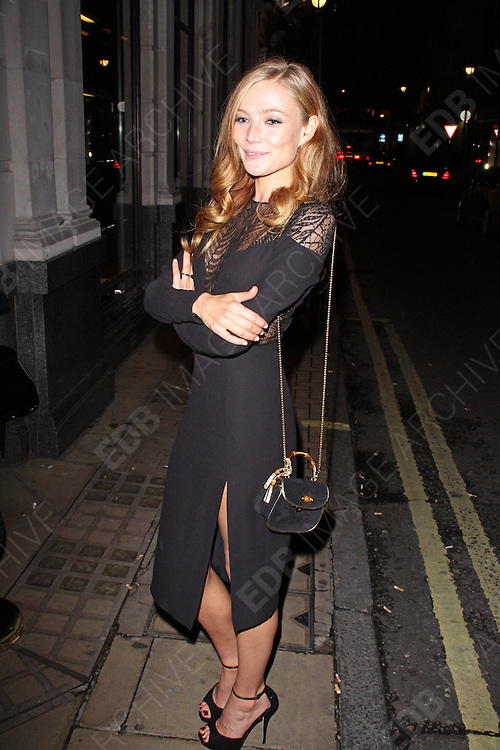 16.OCTOBER.2013. LONDON<br /> <br /> (CODE BR)<br /> CLARA PAGET ATTENDS A PRIVATE GUCCI EVENT ON OLD BOND STREET, LONDON<br /> <br /> BYLINE: EDBIMAGEARCHIVE.CO.UK<br /> <br /> *THIS IMAGE IS STRICTLY FOR UK NEWSPAPERS AND MAGAZINES ONLY*<br /> *FOR WORLD WIDE SALES AND WEB USE PLEASE CONTACT EDBIMAGEARCHIVE - 0208 954 5968*