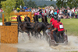 Ulrich Werner, (SUI), Acco Vom Allmen, Conteso, Gb Rocky, I Deal Des Rottes<br /> Pallen Marathon<br /> CHIO Aachen 2016<br /> © Hippo Foto - Dirk Caremans<br /> 16/07/16