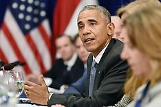 NYC: President Obama Meets With Iraqi PM Haider al-Abadi, 19 September 2016