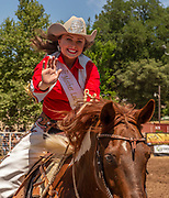 2019 Mother Lode Round-up Queen Rayna Rogers at the 62nd annual Mother Lode Round-up on Sunday, May 12, 2019 in Sonora, California.  Photo by Al Golub