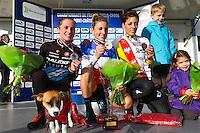 Caroline MANI / Pauline FERRAND PREVOT / Lucie CHAINEL  - 11.01.2015 - Cyclo cross - Championnats de France Femmes - Pontchateau<br /> Photo : Vincent Michel / Icon Sport