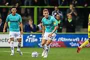 Forest Green Rovers Matthew Worthington(21) on the ball during the EFL Trophy match between Forest Green Rovers and Cheltenham Town at the New Lawn, Forest Green, United Kingdom on 4 September 2018.