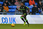 Forest Green Rovers Reece Brown(10) runs forward during the EFL Sky Bet League 2 match between Oldham Athletic and Forest Green Rovers at Boundary Park, Oldham, England on 12 January 2019.