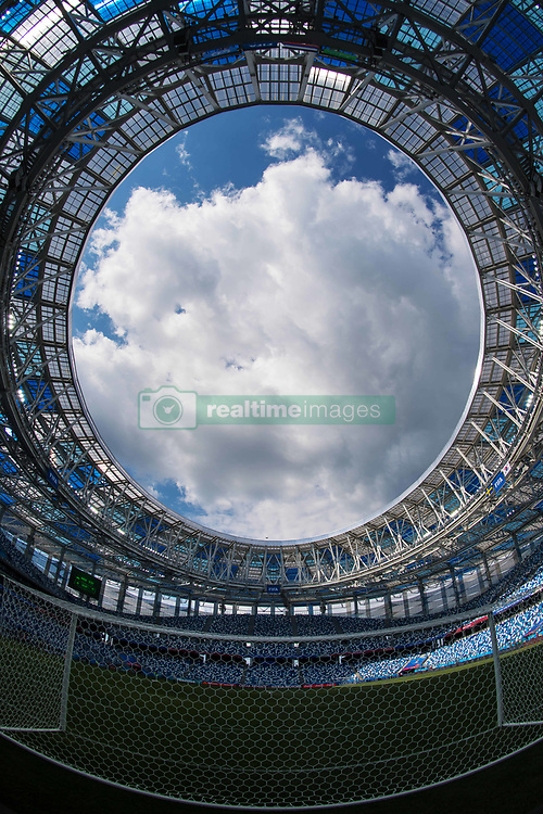June 17, 2018 - Nizhny Novgorod, RUSSIA - 180617 General view of Nizhny Novgorod Stadium ahead of the South Korean national football team's practice session during the FIFA World Cup on June 17, 2018 in Nizhny Novgorod..Photo: Joel Marklund / BILDBYRN / kod JM / 87714 (Credit Image: © Joel Marklund/Bildbyran via ZUMA Press)