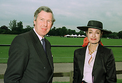 BARON & BARONESS VAN PALLANDT at a polo match in Cirencester on 24th June 1997. LZP 29