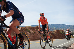 Marta Lach (POL) at Amgen Tour of California Women's Race empowered with SRAM 2019 - Stage 3, a 126 km road race from Santa Clarita to Pasedena, United States on May 18, 2019. Photo by Sean Robinson/velofocus.com