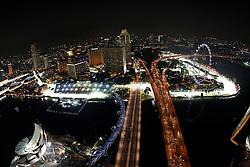 Motorsports / Formula 1: World Championship 2010, GP of Singapore, Singapore City Circuit, general view,