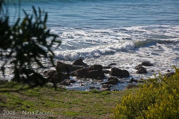 California rocky beach