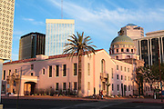 The old courthouse in downtown Tucson