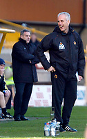 Photo: Ed Godden/Sportsbeat Images.<br />Wolverhampton Wanderers v Cardiff City. Coca Cola Championship. 20/01/2007. Wolves Manager Mick McCarthy (R).