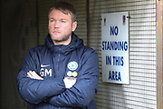 Peterborough United manager Grant McCann prior the EFL Sky Bet League 1 match between AFC Wimbledon and Peterborough United at the Cherry Red Records Stadium, Kingston, England on 17 April 2017. Photo by Stuart Butcher.