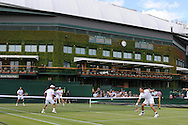 Wimbledon Tennis championships 2012 at the All England club in Wimbledon, London on Saturday 30th June 2012. pic by Andrew Orchard