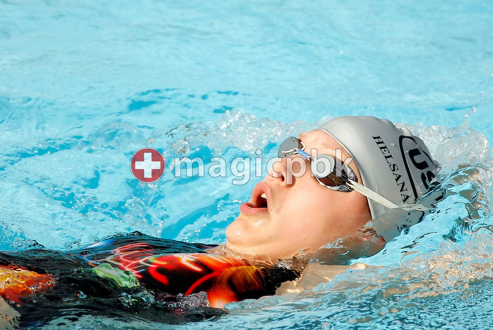 Senata Wagner of Switzerland is pictured during her warm-up on day two at the Swiss Summer Swimming Championships (Swiss Open) at the Sportbad St. Jakob in Basel, Switzerland, Saturday, July 22, 2006. (Photo by Patrick B. Kraemer / MAGICPBK)