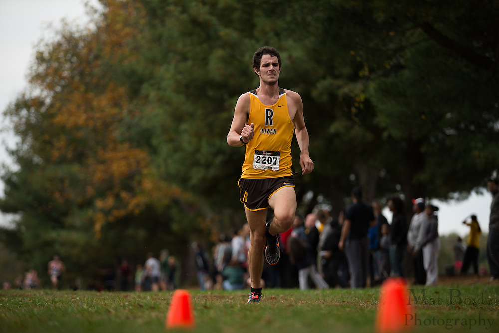 Rowan University Michael Davies - Collegiate Track Conference  Cross-Country Men's Championship at Gloucester County College in Sewell, NJ on Saturday October 19, 2013. (photo / Mat Boyle)