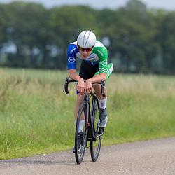 19-06-2019: Wielrennen: NK tijdrijden nieuwelingen junioren: Emmen <br /> Arno van Krimpen