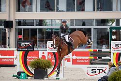 SCHWENTKER Mathis (GER), Louis Vuitton<br /> Hagen - Horses and Dreams meets the Royal Kingdom of Jordan 2018<br /> Finale Mittlere Tour<br /> 29. April 2018<br /> www.sportfotos-lafrentz.de/Stefan Lafrentz
