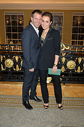 NOOMI RAPACE and BEN LATHAM-JONESat the Lancôme BAFTA Dinner held at The Cafe Royal, Regent's Street, London on 6th February 2015.