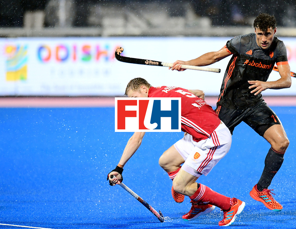 Odisha Men's Hockey World League Final Bhubaneswar 2017<br /> Match id:17<br /> England v Netherlands<br /> Foto: David Ames (Eng) and Glenn Schuurman (Ned) <br /> COPYRIGHT WORLDSPORTPICS FRANK UIJLENBROEK