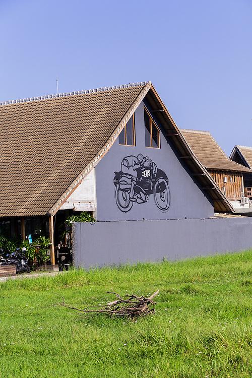 Deus Exterior in Canggu.  Bali, Indonesia.