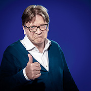 Euronews television debate with ALDE lead candidate Guy VERHOFSTADT<br /> Photo by : @benoit_brgs⠀<br /> ⠀<br /> ⠀<br /> ⠀<br /> @isopixbelgium #instagood #picoftheday #photooftheday @guyverhofstadt #portrait