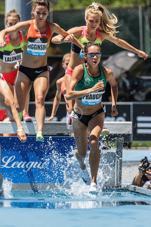adidas Grand Prix Diamond League Track & Field: Women's 3000m Steeplechase, Aisha Praught