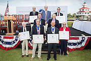 National Sailing Hall of Fame induction ceremony at the Southern Yacht Club in New Orleans on October 14, 2012