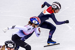 22-02-2018 KOR: Olympic Games day 13, PyeongChang<br /> Short Track Speedskating / Lara Van Ruijven of the Netherlands