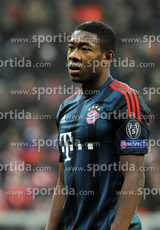 10.12.2013, Allianz Arena, Muenchen, GER, UEFA CL, FC Bayern Muenchen vs Manchester City, Gruppe D, im Bild Ein enttaeuschter David Alaba (FC Bayern Muenchen) // during UEFA Champions League group D match between FC Bayern Munich and Manchester City at the Allianz Arena in Muenchen, Germany on 2013/12/11. EXPA Pictures &copy; 2013, PhotoCredit: EXPA/ Eibner-Pressefoto/ Stuetzle<br /> <br /> *****ATTENTION - OUT of GER*****