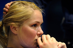 27-03-2011 VOLLEYBAL: TVC AMSTELVEEN - HEUTINK POLLUX: AMSTELVEEN <br /> Halve finale playoffs eredivisie 2010 - 2011 / Kirsten Knip<br /> ©2011 Ronald Hoogendoorn Photography