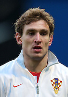 Football Fifa Brazil 2014 World Cup Matchs-Qualifier / Europe - Group A /<br /> Croatia vs Belgium 1-2  ( Maksimir Stadium - Zagreb , Croatia )<br /> Nikica Jelavic of Croatia , during the match between Croatia and Belgium