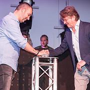 NLD/Amsterdam/20190111 - Top 40 launch Party, Erik de Zwarte n Dave Minneboo lanceren de Top 40