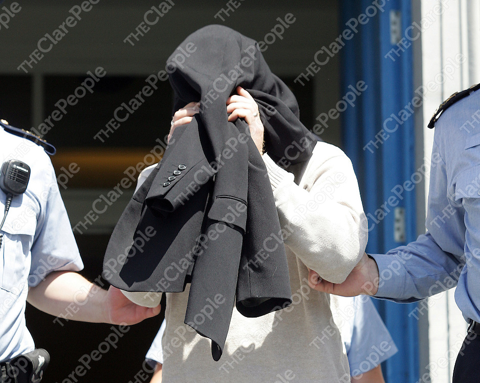 15/07/06<br />Thomas Lennon, aged 35 from Killestry, Killaloe, Co. Clare who appeared in Ennis Court in connection with a drugs find in Killaloe last Friday.<br />Pic: Don Moloney / Press 22