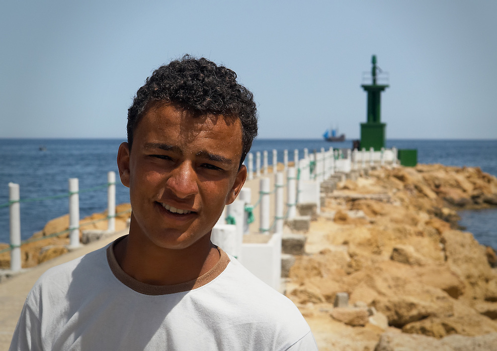 Tunisia - Lightkeeper's son