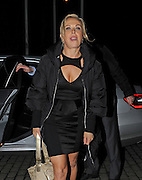 10.MARCH.2012. LONDON<br /> <br /> THE CAST OF DANCING ON ICE ARRIVING BACK AT THE HOLIDAY INN HOTEL IN BOREHAMWOOD AFTER THE FINAL HELD AT ELSTREE STUDIOS.<br /> <br /> BYLINE: EDBIMAGEARCHIVE.CO.UK<br /> <br /> *THIS IMAGE IS STRICTLY FOR UK NEWSPAPERS AND MAGAZINES ONLY*<br /> *FOR WORLD WIDE SALES AND WEB USE PLEASE CONTACT EDBIMAGEARCHIVE - 0208 954 5968*