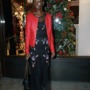 Eunice Olumide attends the Aspinal of London store on Regent's Street St. James's on December 5, 2017 in London, England.
