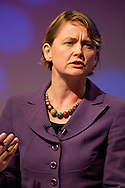 The Right Honourable Yvette Cooper MP Secretary of State for Work and Pensions. Labour, Pontefract & Castleford. Seen here speaking at the TUC Conference 2009.