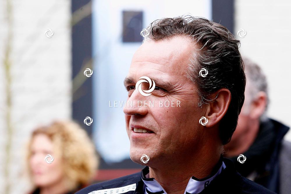 AMSTERDAM - Bij de hoofdsponsor Boretti is het nieuwe Sterrenfietsteam voor 2013 bekend gemaakt. Met op de foto  Frederik Brom. FOTO LEVIN DEN BOER - PERSFOTO.NU
