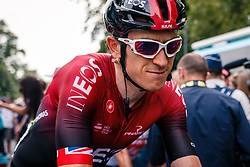 Geraint Thomas (GBR) of Team Ineos (GBR,WT,Pinarello) after stage 1 from Bruxelles to Brussel of the 106th Tour de France, 6 July 2019. Photo by Pim Nijland / PelotonPhotos.com | All photos usage must carry mandatory copyright credit (Peloton Photos | Pim Nijland)