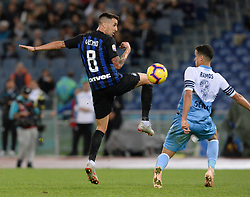 October 29, 2018 - Italy - Matias Vecino during the Italian Serie A football match between S.S. Lazio and Inter at the Olympic Stadium in Rome, on october 29, 2018. (Credit Image: © Silvia Lor/Pacific Press via ZUMA Wire)