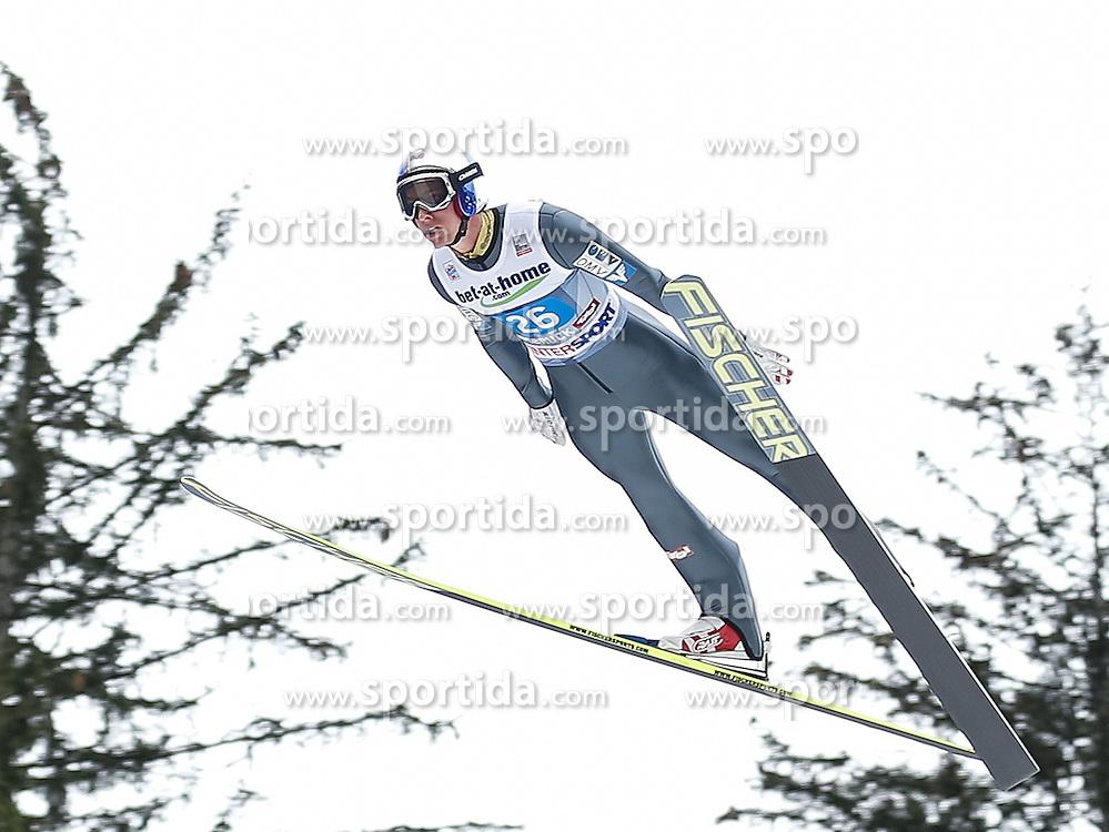 04.01.2014, Bergisel Schanze, Innsbruck, AUT, FIS Ski Sprung Weltcup, 62. Vierschanzentournee, Probesprung, im Bild Gregor Schlierenzauer (AUT) // Gregor Schlierenzauer of Austria during Trial Jump of 62nd Four Hills Tournament of FIS Ski Jumping World Cup at the Bergisel Schanze, Innsbruck, Austria on 2014/01/04. EXPA Pictures © 2014, PhotoCredit: EXPA/ Peter Rinderer