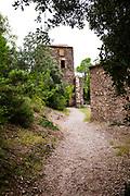 Mas de l'Obac Vell o Casa Vella de l'Obac - 12th century castle in the Parc Natural de Sant Llorenç del Munt i l'Obac