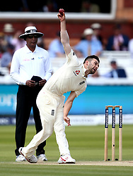 Mark Wood of England bowls - Mandatory by-line: Robbie Stephenson/JMP - 08/07/2017 - CRICKET - Lords - London, United Kingdom - England v South Africa - Investec Test Series