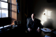 Newly-elected Rep. Frank Guinta sits for a potrait in his office on Capitol Hill on Wednesday, January 5, 2011 in Washington, DC.