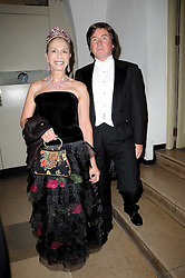 PETER COLEMAN and LADY COLIN CAMPBELL at the 13th annual Russian Summer Ball held at the Banqueting House, Whitehall, London on 14th June 2008.<br /><br />NON EXCLUSIVE - WORLD RIGHTS