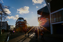 Fans arrive at Portman Road - Mandatory by-line: Phil Chaplin/JMP - 14/12/2019 - FOOTBALL - Portman Road - Ipswich, England - Ipswich Town v Bristol Rovers - Sky Bet League One